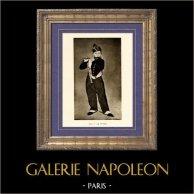 Querpfeife - The Young Flautist - The Fifer - Le Fifre (Edouard Manet) | Original heliogravüre auf velinpapier nach Edouard Manet. Anonyme. 1910