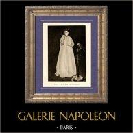 Junge Dame mit Papagei - La Femme au Perroquet (Edouard Manet)