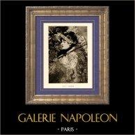 Jeanne - Le Printemps (Edouard Manet) | Héliogravure originale sur papier velin d'après Edouard Manet. Anonyme. 1910