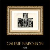 Nativity of Jesus - Circumcision (Master of Orsay's Altarpiece)