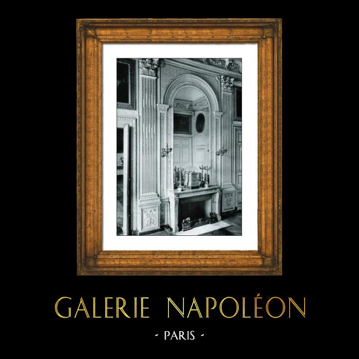 Antique Prints & Drawings | Wall Painting - Louis XVI - Style de Salembier - Hotel Rue Neuve des Mathurins Paris | Phototypie | 1894