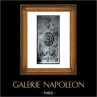 Gate - XVIIIth Century - Grand Salon d'Hercule du Palais de Versailles