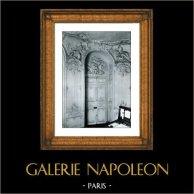 Oval Salon of Prince de Soubise - Ancien Hotel de Rohan Soubise - Palais des Archives Nationales - Paris