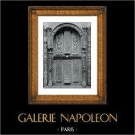 Decoración -  Madera Tallada -  Chapelle du Château de Gaillon - XVIème Siècle