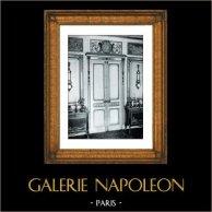 Decoration (Cauvet) - Epoque Louis XVI - Boiseries Sculptées et Dorées - Hotel de Noailles Mouchy