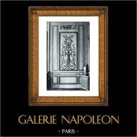 Decoration - Carved Wood - Hotel d'Hallwill - Paris (Claude Nicolas Ledoux Architecte)