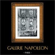 Decorazione -  Allegoria - Peinture en Camaïeu (F. Boucher - J.B. Pierre - A. Peyrotte) - Palais de Fontainebleau