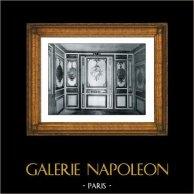 Decoración - Madera Tallada y Dorada - Cabinet des Bains - Fille de Louis XV - Château de Versailles