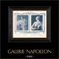 Female Nude - Erotica - Curiosa - Cleopatra (Guido Reni) - Death of Lucretia (Filippo Mazzola)