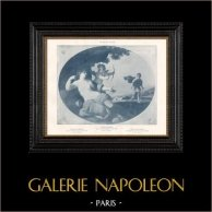 Nu Artistique - Erotica - Curiosa - Aphrodite - Cupidon - Vénus et Adonis (Giovanni-Francesco Romanelli)