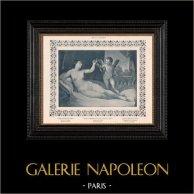 Nu Fêmea - Erotica - Curiosa - Cupido Apresentando uma Flecha a Vênus (Guido Reni)