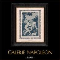 Female Nude - Erotica - Curiosa - The Temptation of Adam and Eve (Carlo Cignani)