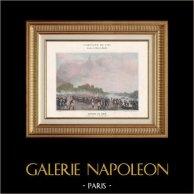 Napoleon Bonaparte - Koalitionskriege - Überfahrt des Rheins - Österreich - Dirsheim - Moreau - Lecourbe (1797)