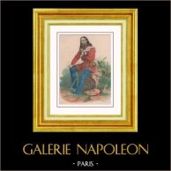 Porträtt av Giuseppe Garibaldi (1807-1882)