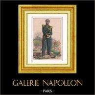 Portret van Guinard - Franse Militair uniform - Tweede Franse Keizerrijk