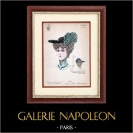 French Fashion - Paris - Mode - 1900 - Hairstyle and Hat - Nanette 40