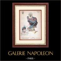 Moda Francesa - Paris - 1900 - Peinado y Sombrero - Raymonde 2