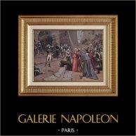 Napoléon Bonaparte - Siège de Pavie - La Révolte de Pavie (Paul-Emile Boutigny)