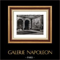 Decoration - Rubens - Tapestry - Baluster - Marbel - Brussels