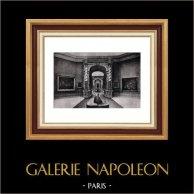 Decoration - Salons - Palais de l'Exposition - Brussels | Original heliogravure on vellum paper of Holland Van Gelder Zonen. Anonymous. 1910