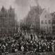 DÉTAILS 01   Garde Bourgeoise sur la Place de Meir à Anvers en 1673 (van Eyck)