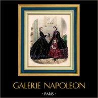 Modedrucke - Französische Mode - 19. Jahrhundert - Paris - Anais Toudouze