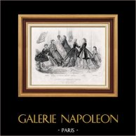 Modedrucke - Französische Mode - 19. Jahrhundert - Paris - Anais Toudouze - Le Conseiller Moral des Familles