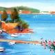 DETALLES 04 | Francia - Provence - Paisaje de Provenza - Riviera Francesa - Marine - Puerto sobre el Mediterráneo