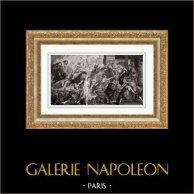 Allegory - Mythology - Apotheosis of Henry IV - Regency of Marie de Medici - Jupiter - Minerva (Peter Paul Rubens)