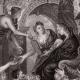 DÉTAILS 03   Allégorie - Mythologie - Apothéose de Henri IV - Régence de Marie de Médicis - Jupiter - Minerve (Peter Paul Rubens)