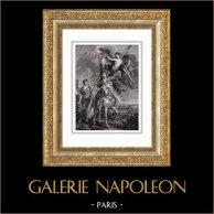 Marie de Medici at the Battle of Ponts-de-Cé - The Capture of Juliers (Peter Paul Rubens)