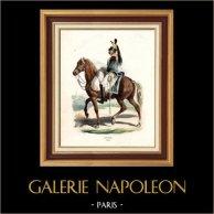 Napoleonisk Soldat - Uniform - Kyrassiär - Cuirassier - Kavalleri (1809)