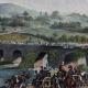 DÉTAILS 01   Retraite de l'Armée Prussienne vs l'Armée Française - Rhin - Pont de Nodin - Guerres de la Révolution Française - Octobre 1792