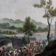 DÉTAILS 03   Retraite de l'Armée Prussienne vs l'Armée Française - Rhin - Pont de Nodin - Guerres de la Révolution Française - Octobre 1792