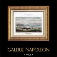 Napoleone Bonaparte - Assedio di Tolone - Toulon - Guerre Rivoluzionarie Francesi - 1793 | Typogravure originale di Boussod & Valadon secondo Iung. 1890
