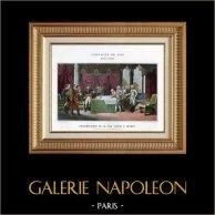 Napoleon Bonaparte - Austria - Preliminaries of Peace Signed in Loeben - Campo Formio - French Revolutionary Wars - 1797