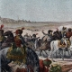 DETAILS 02   Napoleonic Campaign in Egypt - Ottoman Empire - General Napoleon Bonaparte Visits the Fountains of Moses - French Revolutionary Wars - 1798
