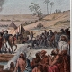 DETAILS 03   Napoleonic Campaign in Egypt - Ottoman Empire - General Napoleon Bonaparte Visits the Fountains of Moses - French Revolutionary Wars - 1798