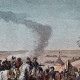DETAILS 04   Napoleonic Campaign in Egypt - Ottoman Empire - General Napoleon Bonaparte Visits the Fountains of Moses - French Revolutionary Wars - 1798
