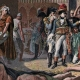 DÉTAILS 01   Campagne d'Égypte - Empire Ottoman - Israël - Le Général Bonaparte Visite l'Hôpital des Pestiférés à Jaffa - Guerres Napoléoniennes - 25 Mai 1799
