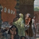 DÉTAILS 02   Campagne d'Égypte - Empire Ottoman - Israël - Le Général Bonaparte Visite l'Hôpital des Pestiférés à Jaffa - Guerres Napoléoniennes - 25 Mai 1799