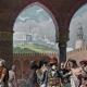 DÉTAILS 04   Campagne d'Égypte - Empire Ottoman - Israël - Le Général Bonaparte Visite l'Hôpital des Pestiférés à Jaffa - Guerres Napoléoniennes - 25 Mai 1799