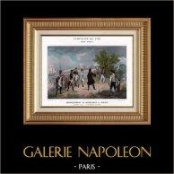 Campaña Napoleónica en Egipto - Desembarque de Bonaparte en Fréjus - Napoleón Bonaparte - Guerras Napoleónicas - 1799