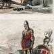 DÉTAILS 05 | Soldats Anglais - Uniforme Militaire - Le Prince Noir - Édouard de Woodstock - Angleterre - Arbalète (14ème Siècle - XIVème Siècle)