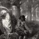 DÉTAILS 03 | Faucheuse - Ange de la Mort - La Mort et le Bûcheron (Jean de La Fontaine)