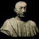 DÉTAILS 01 | Sculpture Italienne - Buste de Pietro Mellini (Benedetto da Majano) - Buste dit de Machiavel