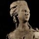 DÉTAILS 01   Sculpture en Belgique - Buste de Femme (L. Godecharle) - Princesse Marie José de Belgique (Victor Rousseau)