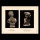DÉTAILS 03   Sculpture en Belgique - Buste de Femme (L. Godecharle) - Princesse Marie José de Belgique (Victor Rousseau)