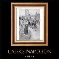 La Huelga de los Cocheros en Paris (1900)