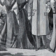 DETAILS 02 | French Fashion Plate - French Fashion Print - Paris - 1900 - L'Exposition des Chrysanthèmes